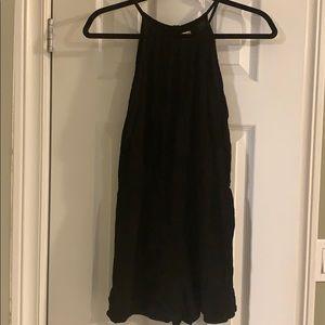 Other - Black sleeveless romper